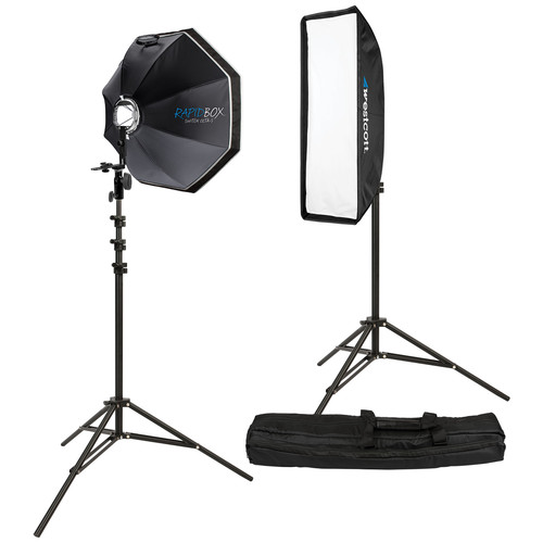 Westcott Rapid Box 2 Light Kit with Deflector Plate