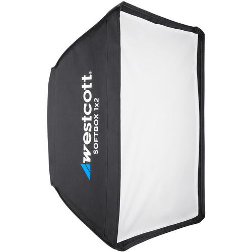 Westcott Softbox 1x2 with White Interior