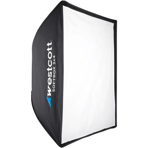 Westcott Softbox 3x4 with Silver Interior