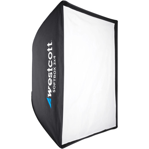 Westcott Softbox 3x4 with Silver Interior