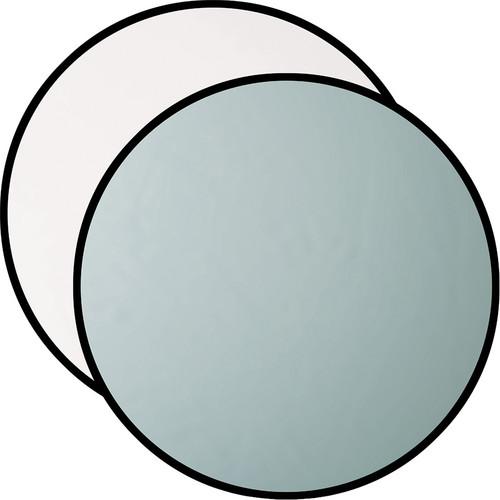 """Westcott Silver/White 20"""" 2-in-1 Reflector"""
