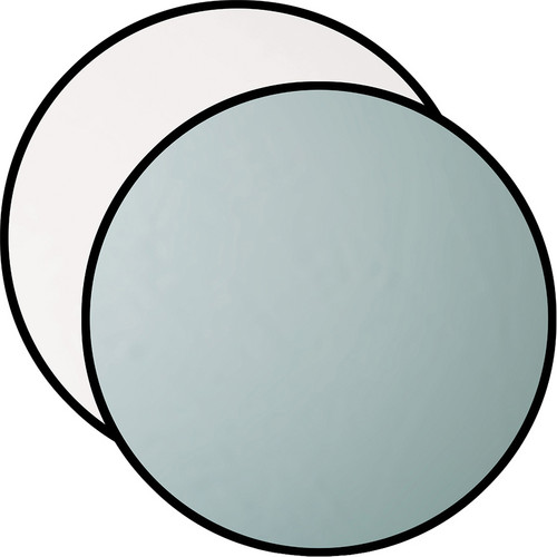 """Westcott Silver/White 40"""" 2-in-1 Reflector"""