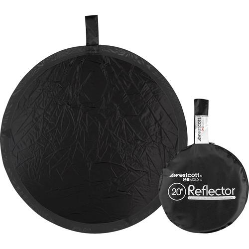 "Westcott Basics 20"" Collapsible Reflector (Black)"