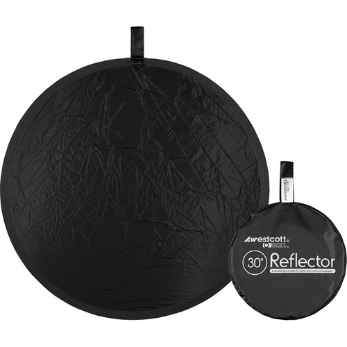 "Westcott Basics 30"" Collapsible Reflector (Black)"