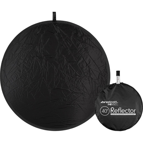 "Westcott Basics 40"" Collapsible Reflector (Black)"