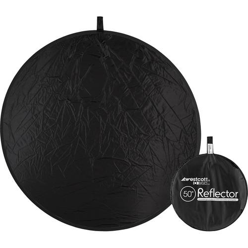 "Westcott Basics 50"" Collapsible Reflector (Black)"