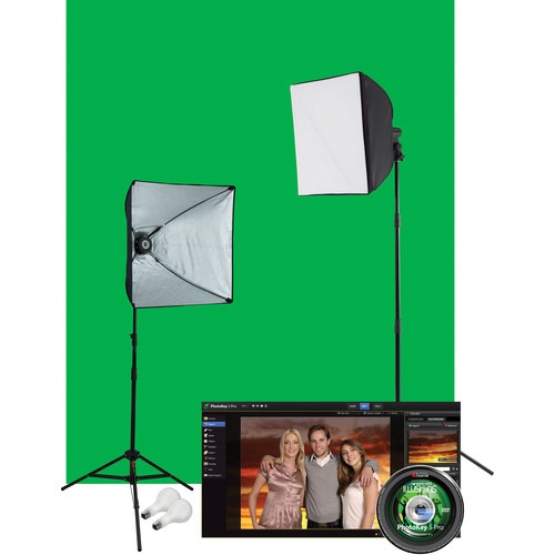 Westcott Illusions uLite Green Screen Photo Lighting Kit (Pro)