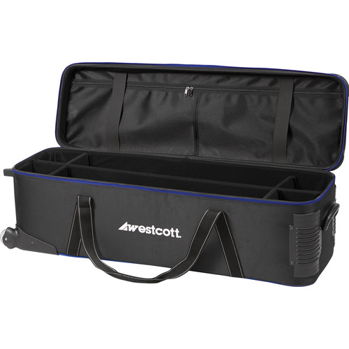 Westcott Deluxe Wheeled Travel Bag (Black)