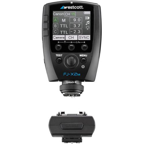 Westcott FJ-X2m Universal Flash Trigger for FJ400 Strobe with Sony Adapter