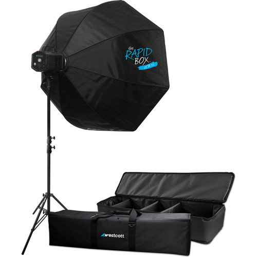"Westcott Skylux LED 1-Light XL Kit with Rapid Box 36"""