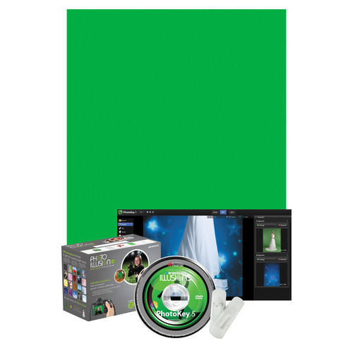 Westcott Illusions Photo Green Screen Software Bundle - Standard