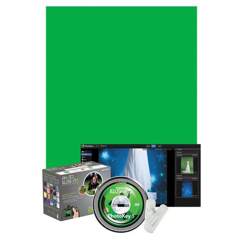 Westcott Illusions Photo Green Screen Software Bundle - Standard