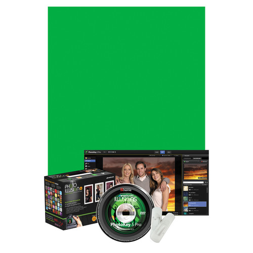 Westcott Illusions Photo Green Screen Software Bundle - Pro