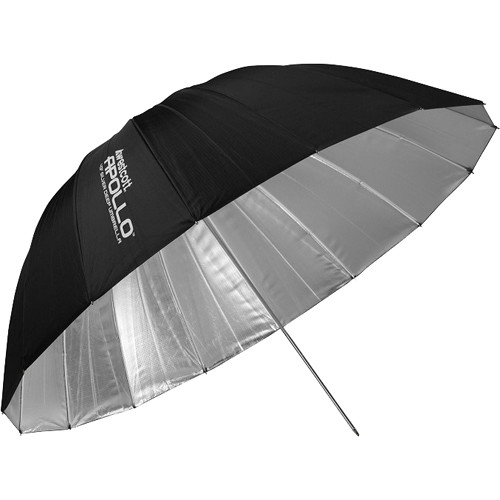 "Westcott Apollo Deep Umbrella (Silver, 43"")"