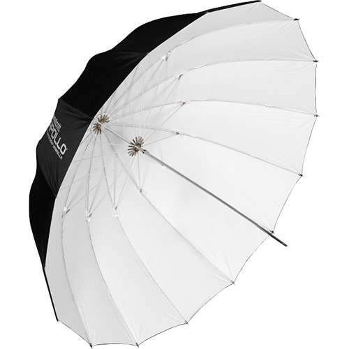 """Westcott Apollo Deep Umbrella (White, 43"""")"""