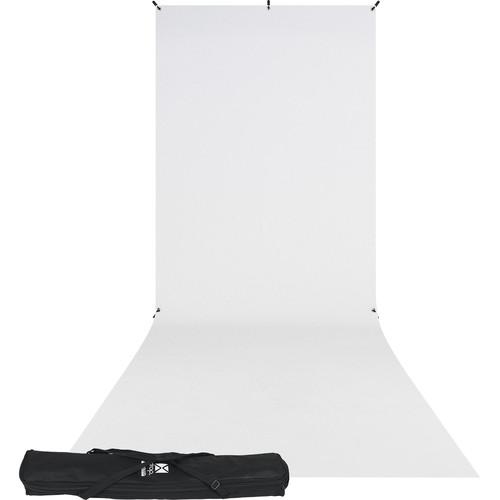 Westcott X-Drop Kit (5 x 12', White)