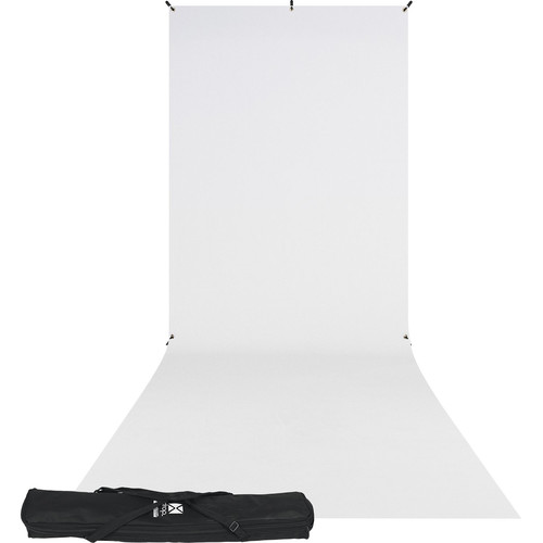 Westcott X-Drop Kit (5 x 12', White)