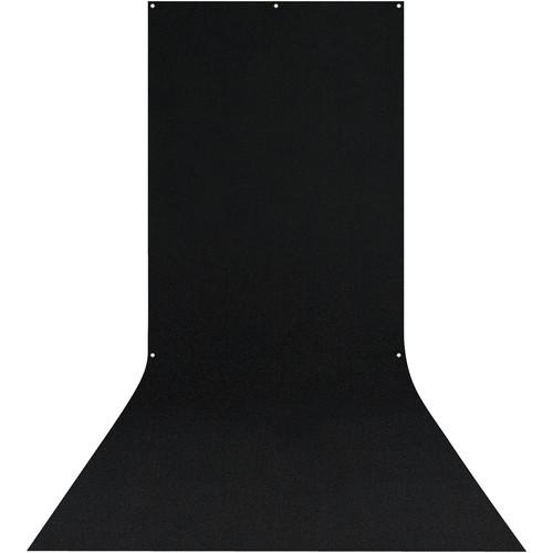 Westcott X-Drop Background (5 x 12', Black)