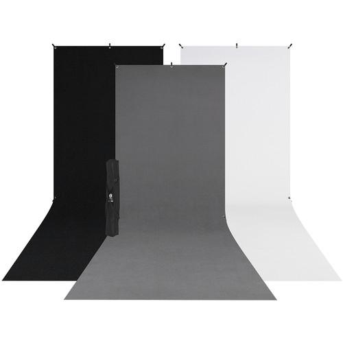 Westcott X-Drop 3-PackSweep Backdrop Kit (5 x 12')