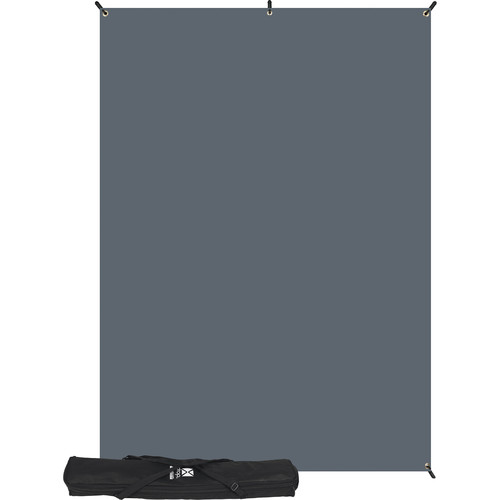 Westcott X-Drop Kit (5 x 7', Solid Gray)