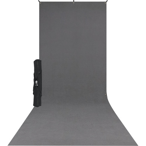 Westcott X-Drop Kit (5 x 12', Neutral Gray)