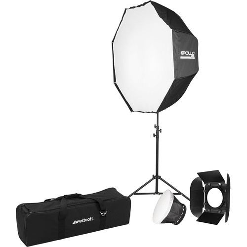 Westcott Solix Bi-Color 1-Light Kit with Apollo Orb and Stand