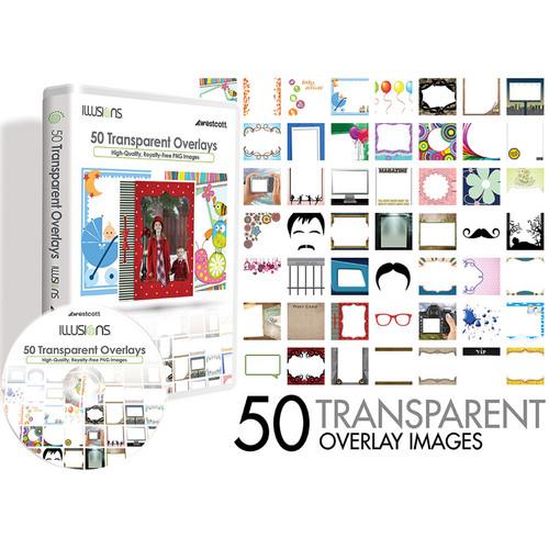 Westcott Illusions Images CD: 50 Transparent Overlays