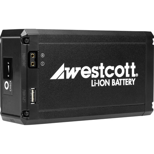 Westcott Portable Li-Ion Battery for Flex LED Mat (14.8V, 10.4Ah)