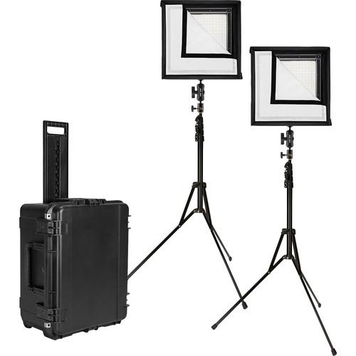 Westcott Flex Daylight LED Mat 2-Light Cine Studio Kit (1 x 1')