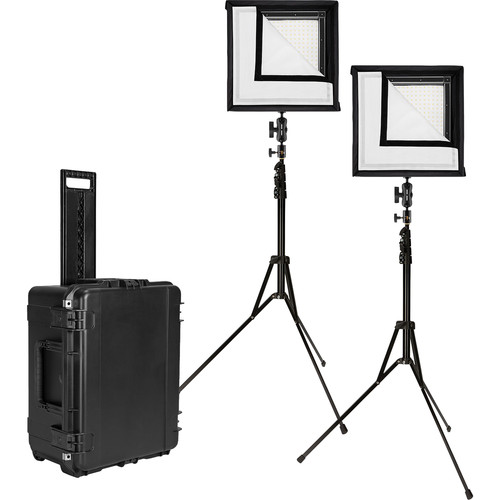 Westcott Flex Daylight LED Mat 2-Light Cine Studio Kit (1 x 1')