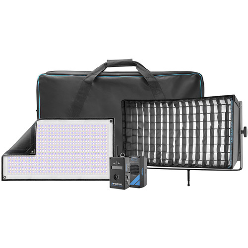 Westcott Flex Cine DMX RGBW LED Mat Single Light Fixture Kit (1 x 2')