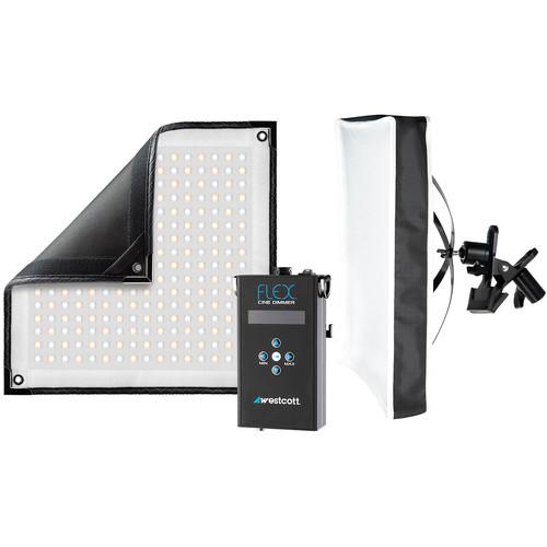 Westcott Flex Cine Bi-Color LED X-Bracket Kit (1 x 1')