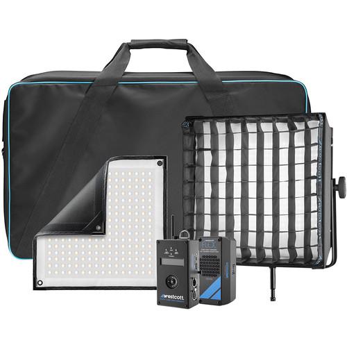 Westcott Flex Cine DMX Bi-Color LED Mat Single Light Fixture Kit (1 x 1')