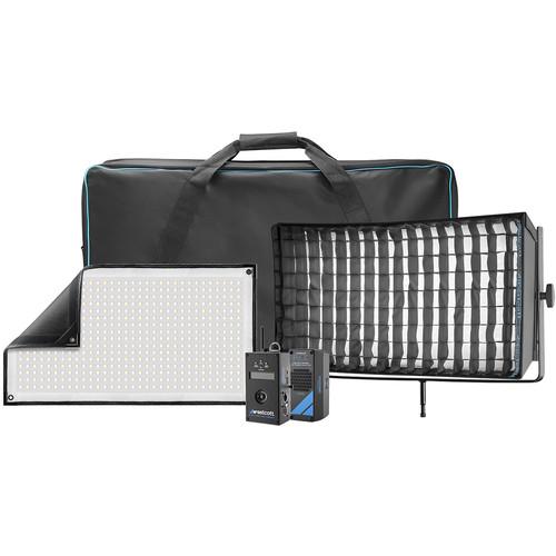 Westcott Flex Cine DMX Bi-Color LED Mat Single Light Fixture Kit (1 x 2')
