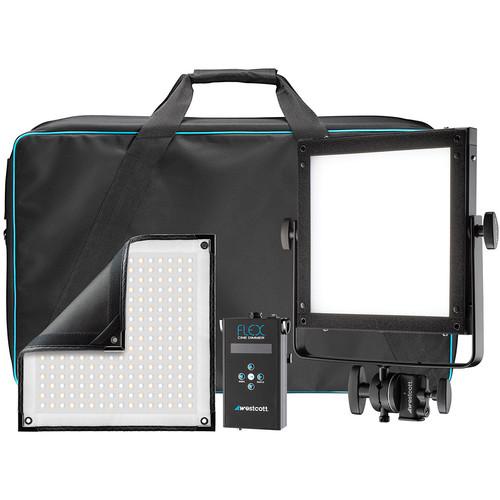 Westcott Flex Cine Bi-Color 1-Light Gear Kit (1 x 1')