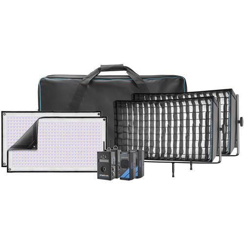 Westcott Flex Cine DMX RGBW LED Mat Two-Light Fixture Kit (1 x 2')