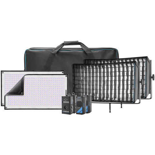 Westcott Flex Cine DMX RGBW LED Mat Two-Light Fixture Kit (1 x 2')