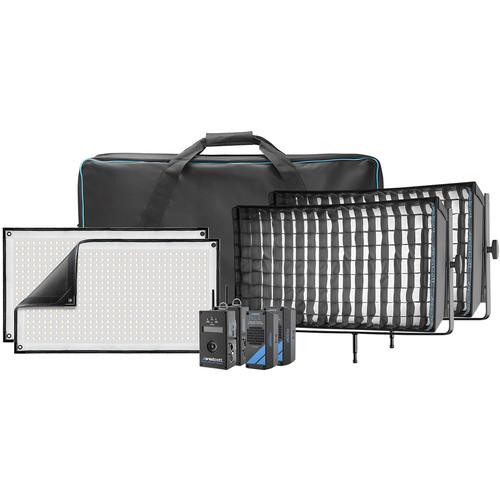 Westcott Flex Cine DMX Bi-Color LED Mat Two-Light Fixture Kit (1 x 2')