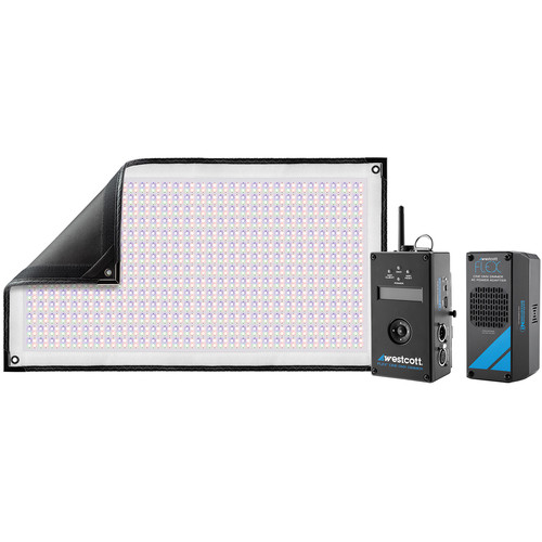 Westcott Flex Cine DMX RGBW Mat 1-Light Set (1 x 2')