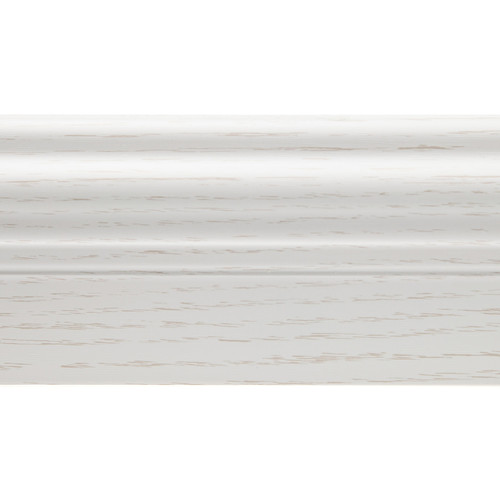 Westcott Westcott X-Drop Baseboard (Distressed White Wood, 5')