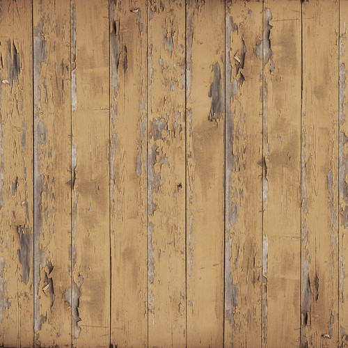 Westcott Distressed Wood Matte Vinyl Backdrop with Hook-and-Loop Attachment (3.5 x 3.5', Vintage Brown)