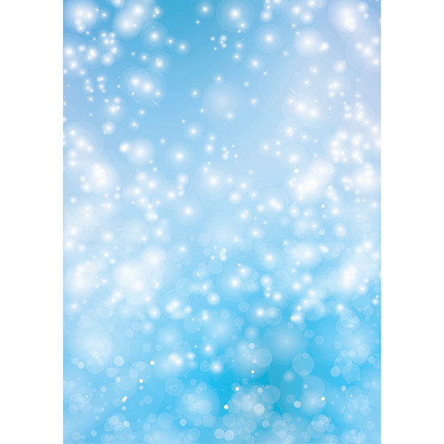 Westcott Bokeh Art Canvas Backdrop with Grommets (5 x 7', Blue)