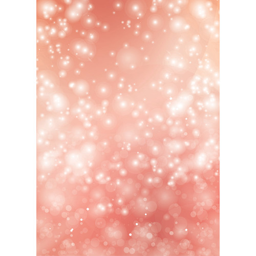 Westcott Bokeh Art Canvas Backdrop with Grommets (5 x 7', Orange)
