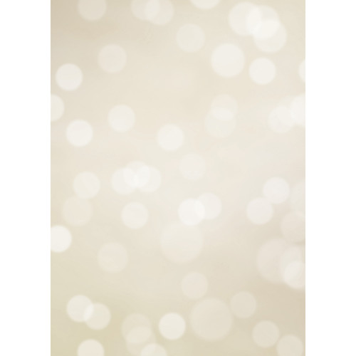 Westcott Subtle Bokeh Art Canvas Backdrop with Grommets (5 x 7', Brown)
