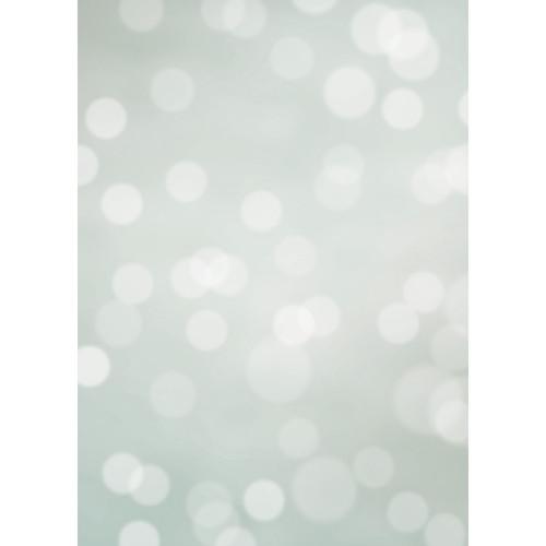 Westcott Subtle Bokeh Art Canvas Backdrop with Grommets (5 x 7', Green)