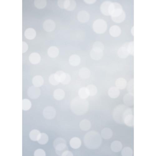 Westcott Subtle Bokeh Art Canvas Backdrop with Grommets (5 x 7', Gray)