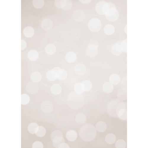 Westcott Subtle Bokeh Art Canvas Backdrop with Grommets (5 x 7', Tan)