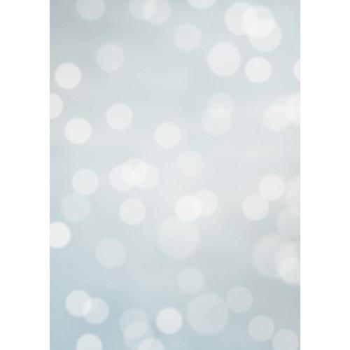 Westcott Subtle Bokeh Matte Vinyl Backdrop with Grommets (5 x 7', Turquoise)