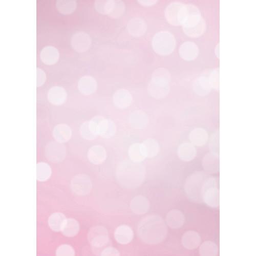 Westcott Subtle Bokeh Matte Vinyl Backdrop with Grommets (5 x 7', Pink)