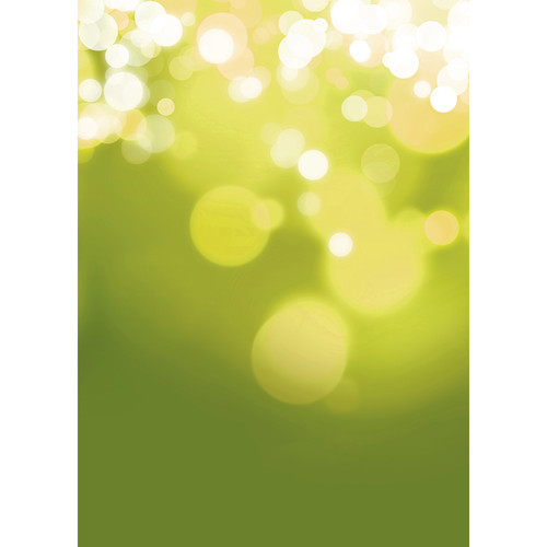 Westcott Gradient Bokeh Art Canvas Backdrop with Grommets (5 x 7', Yellow)